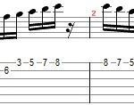 c major scale 5th string