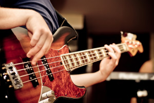 playing the bass - module 4