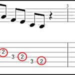 target notes descending diatonic approximation