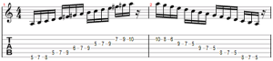 classic melodic minor scale
