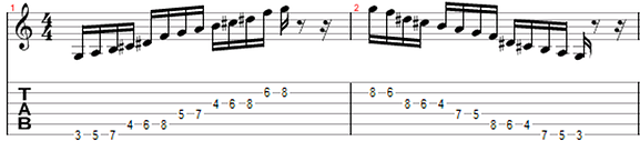 hexatonic whole tone scale