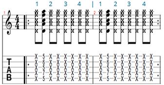 Rhythmic exercise 3