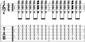 Rhythmic exercise 7