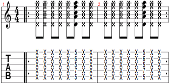 Rhythmic exercise 7
