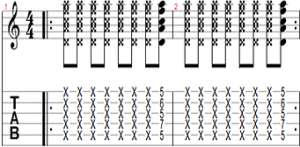Rhythmic exercise 9