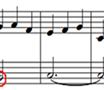 Key Signature with an accidental