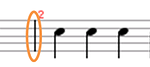 example of musical bar lines