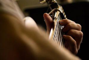studying music guitar module 7