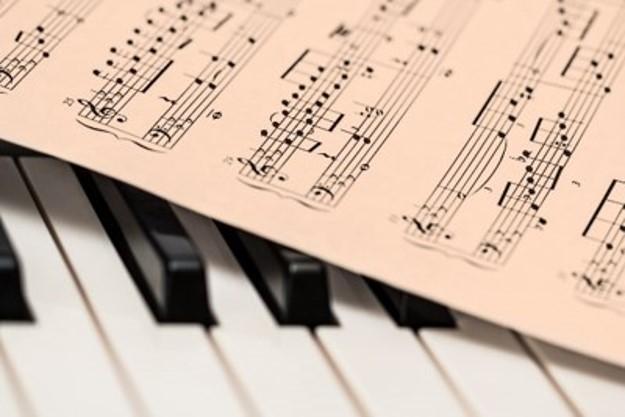 sheet music piano